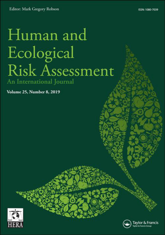 Cover image - Human and Ecological Risk Assessment