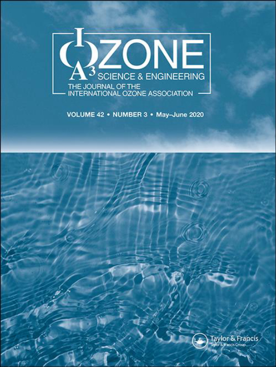 Cover image - Ozone: Science & Engineering