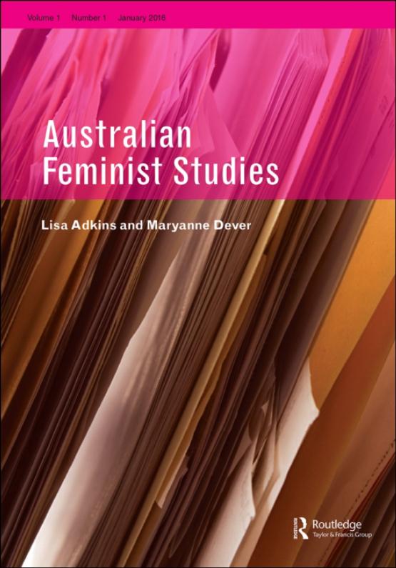 Cover image - Australian Feminist Studies