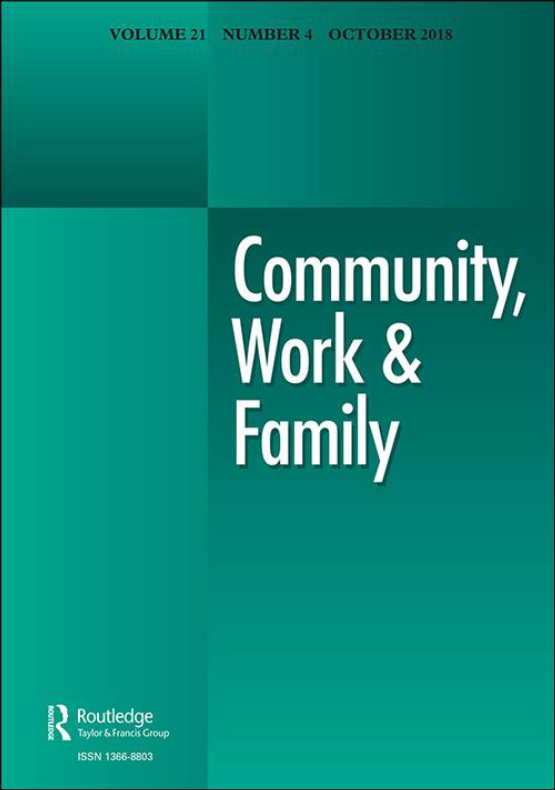 Cover image - Community, Work & Family
