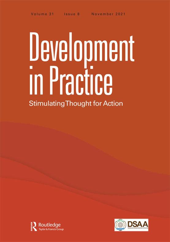 Cover image - Development in Practice