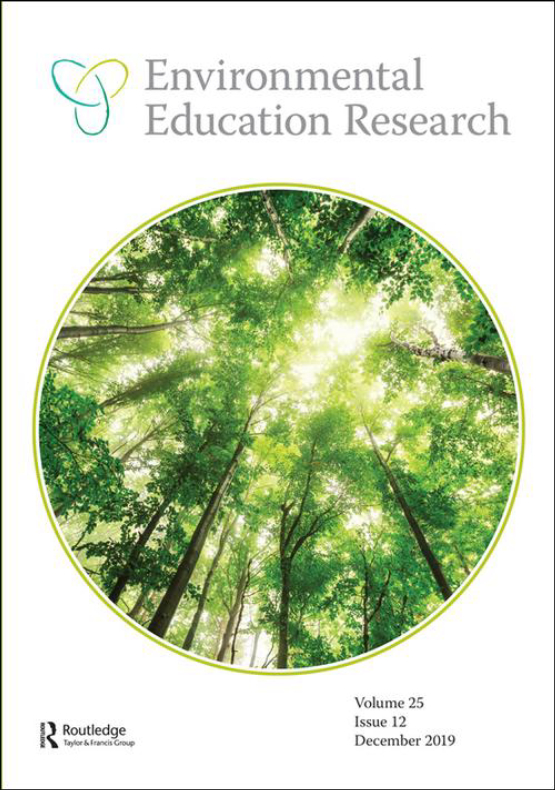 Cover image - Environmental Education Research