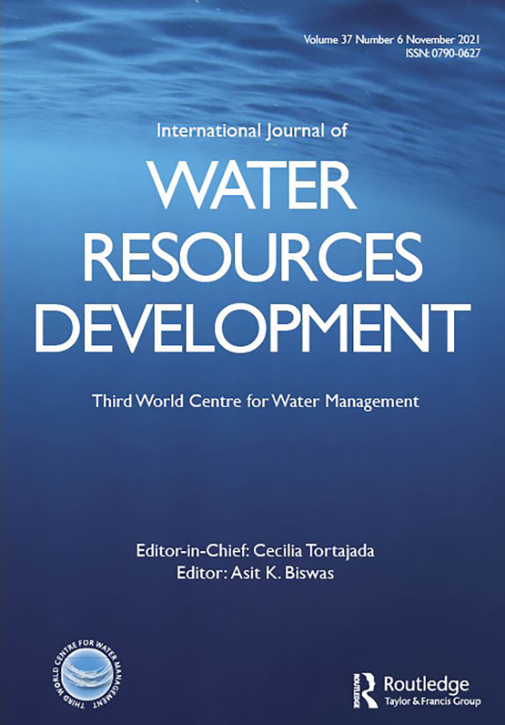Cover image - International Journal of Water Resources Development