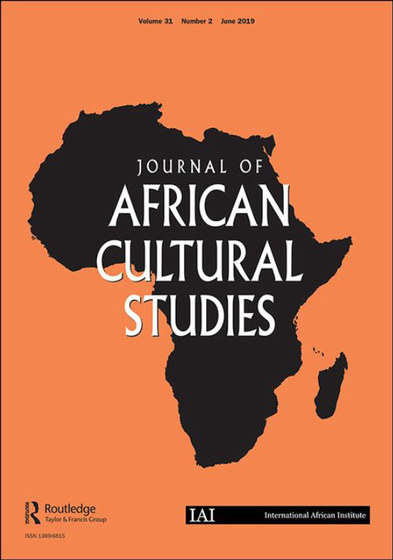Cover image - Journal of African Cultural Studies
