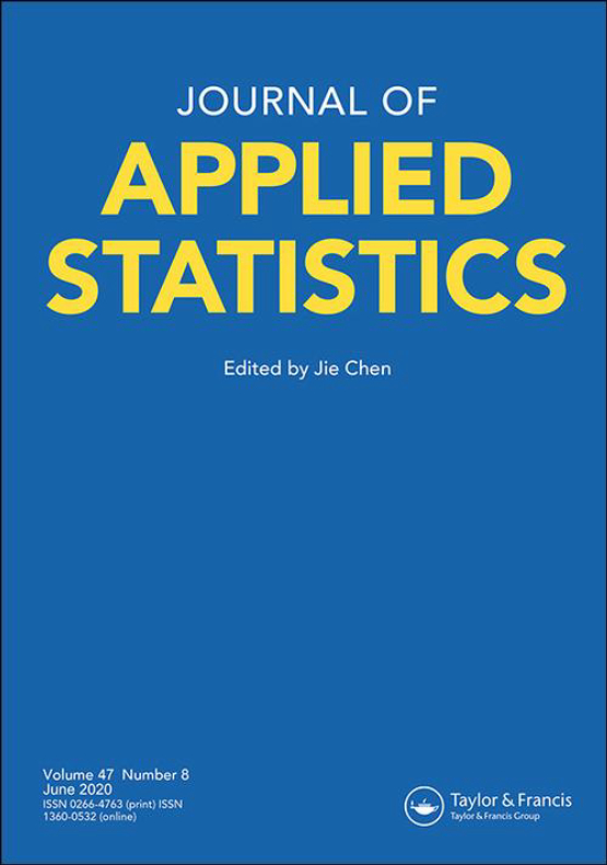 Cover image - Journal of Applied Statistics