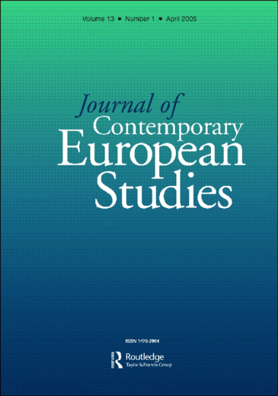 Cover image - Journal of Contemporary European Studies