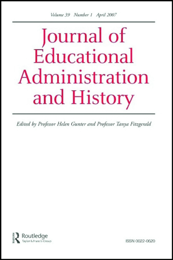 Cover image - Journal of Educational Administration and History