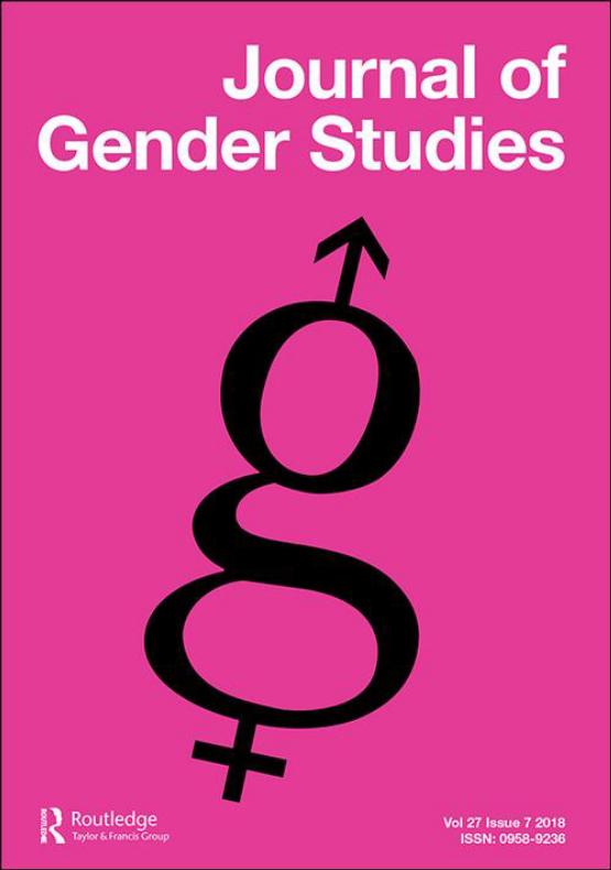 Cover image - Journal of Gender Studies