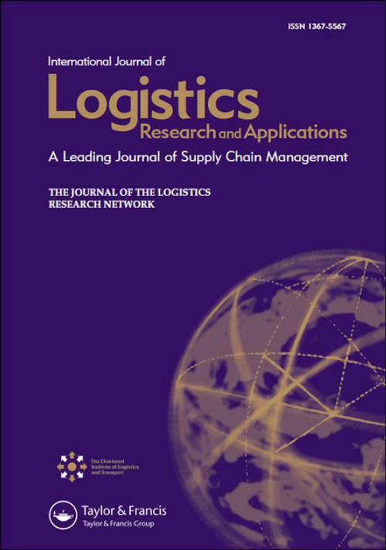 Cover image - International Journal of Logistics Research and Applications
