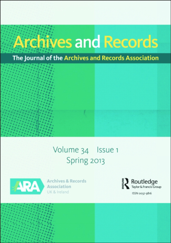 Cover image - Archives and Records