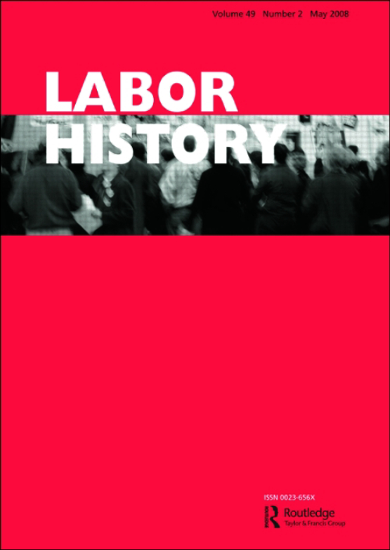 Cover image - Labor History