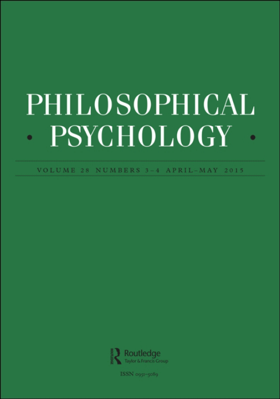 Cover image - Philosophical Psychology