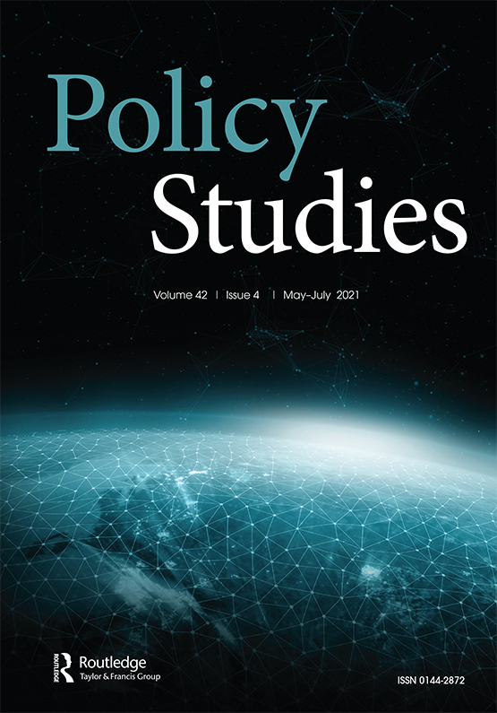 Cover image - Policy Studies