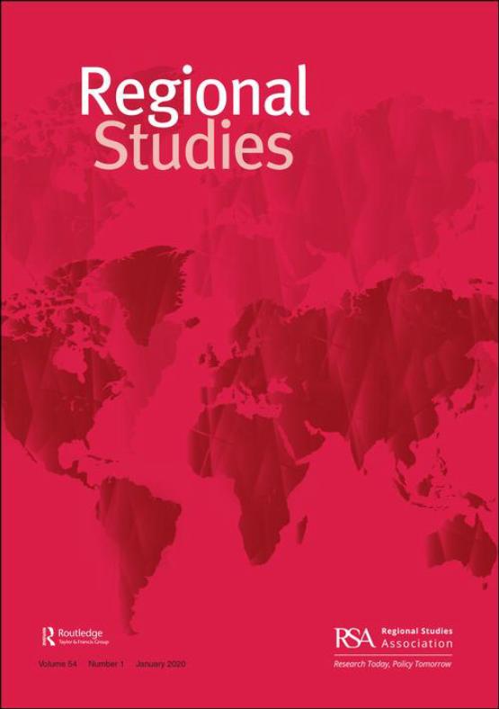 Cover image - Regional Studies
