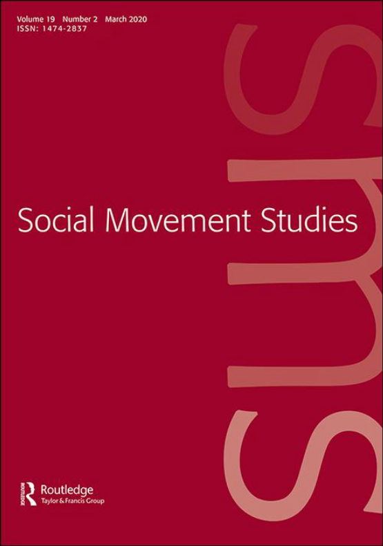 Cover image - Social Movement Studies