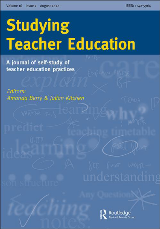 Cover image - Studying Teacher Education