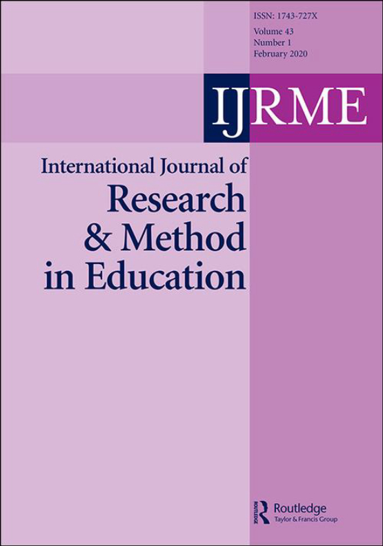 Cover image - International Journal of Research & Method in Education