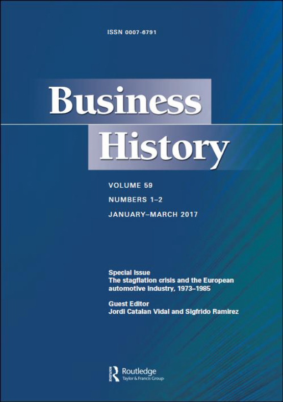 Cover image - Business History