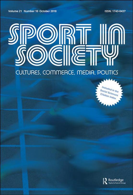 Cover image - Sport in Society