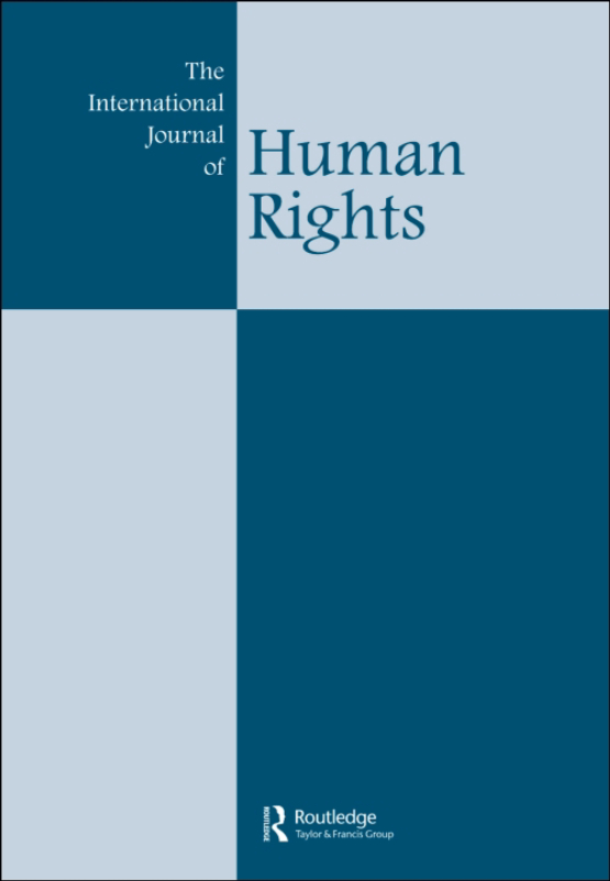 Cover image - The International Journal of Human Rights