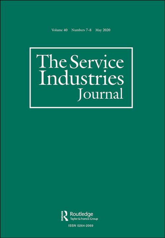Cover image - The Service Industries Journal