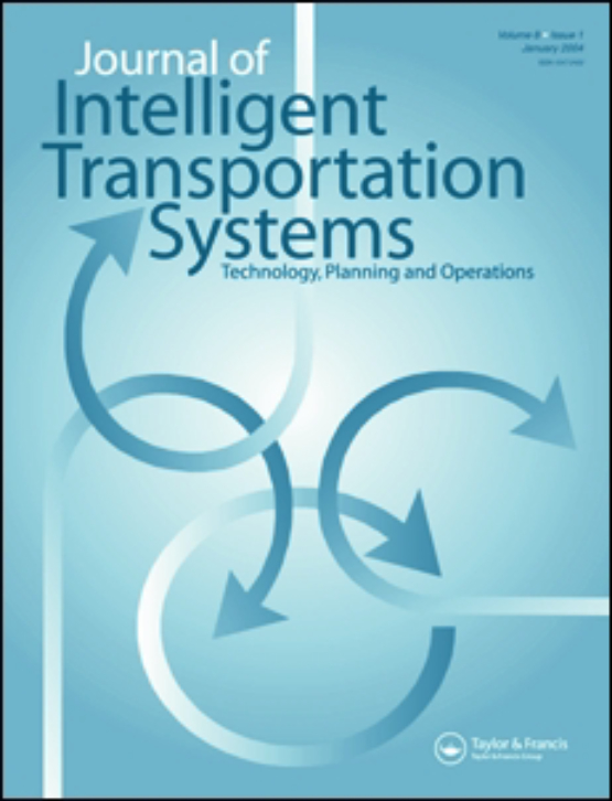 Cover image - Journal of Intelligent Transportation Systems