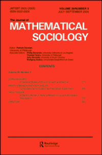 The Journal of Mathematical Sociology