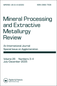 Mineral Processing and Extractive Metallurgy Review