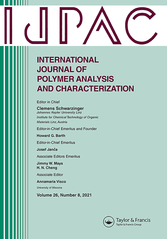 Cover image - International Journal of Polymer Analysis and Characterization
