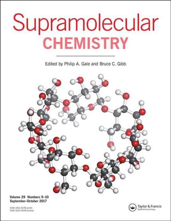 Cover image - Supramolecular Chemistry