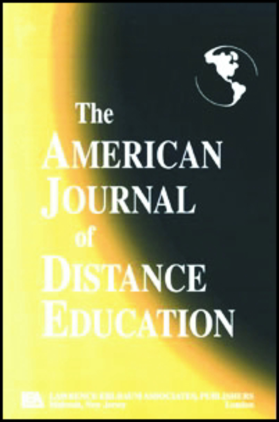 Cover image - American Journal of Distance Education