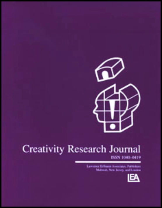 Cover image - Creativity Research Journal
