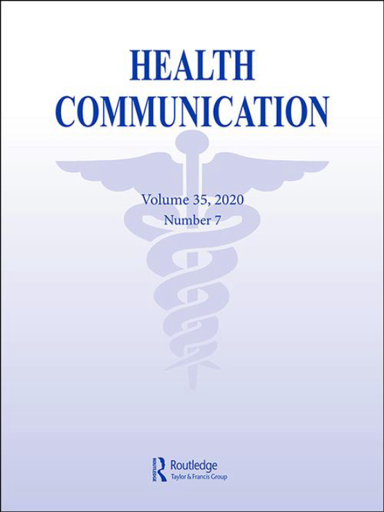 Cover image - Health Communication