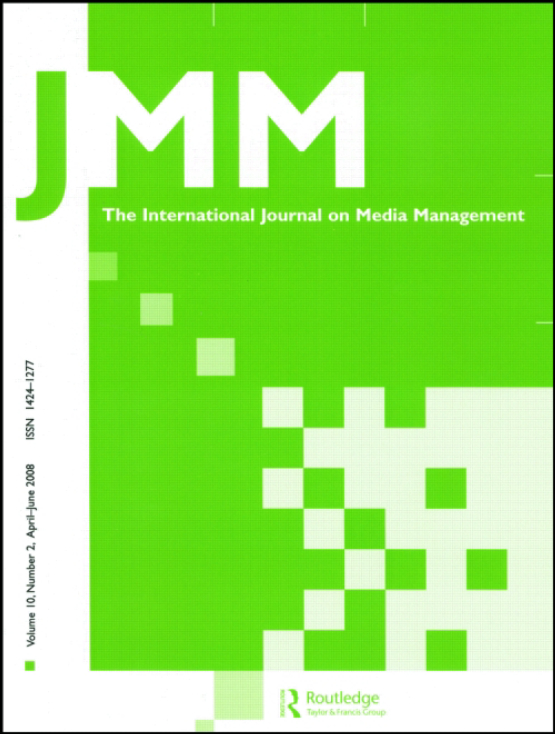 Cover image - JMM - International Journal on Media Management