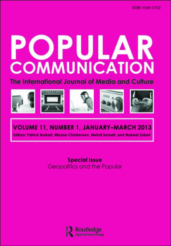 Cover image - Popular Communication