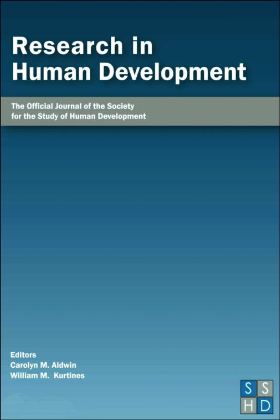 Cover image - Research in Human Development