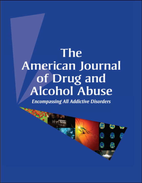 Cover image - The American Journal of Drug and Alcohol Abuse