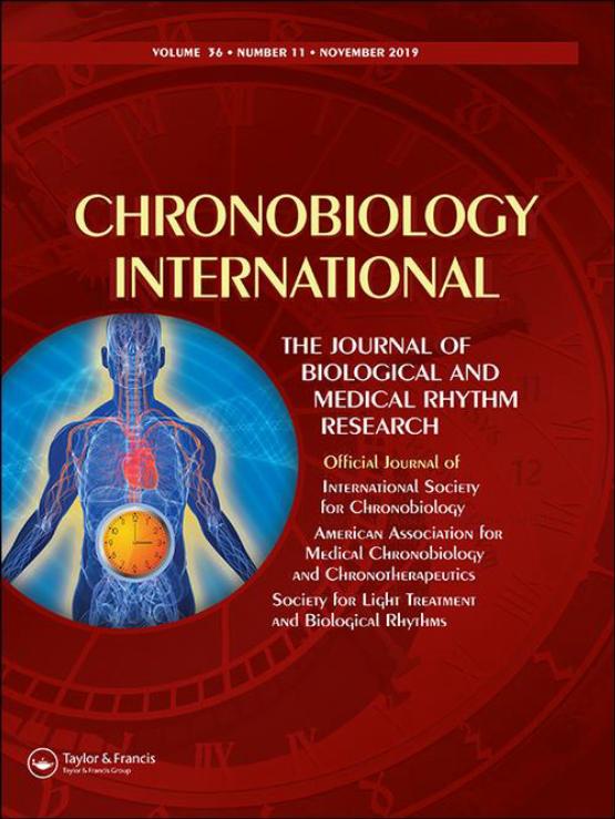Cover image - Chronobiology International