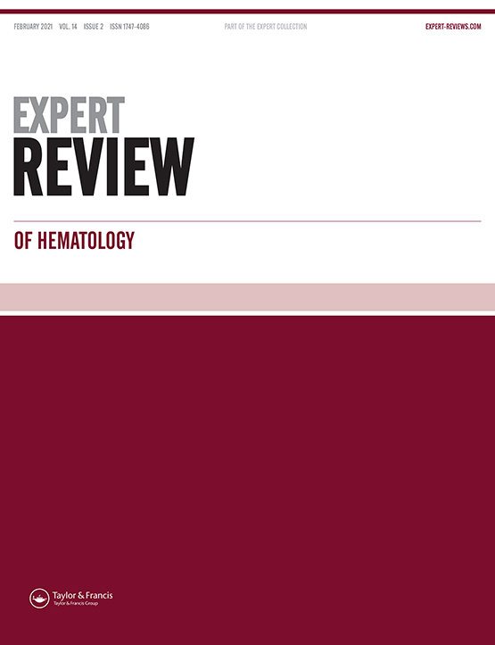 Cover image - Expert Review of Hematology