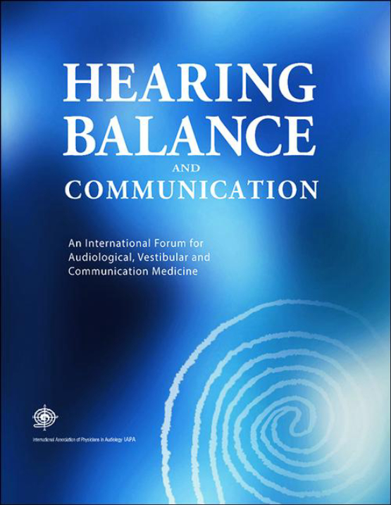 Cover image - Hearing, Balance and Communication