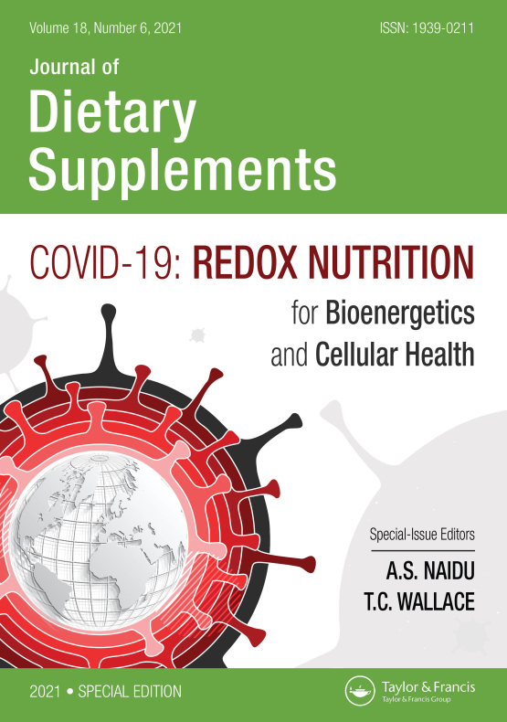 Cover image - Journal of Dietary Supplements