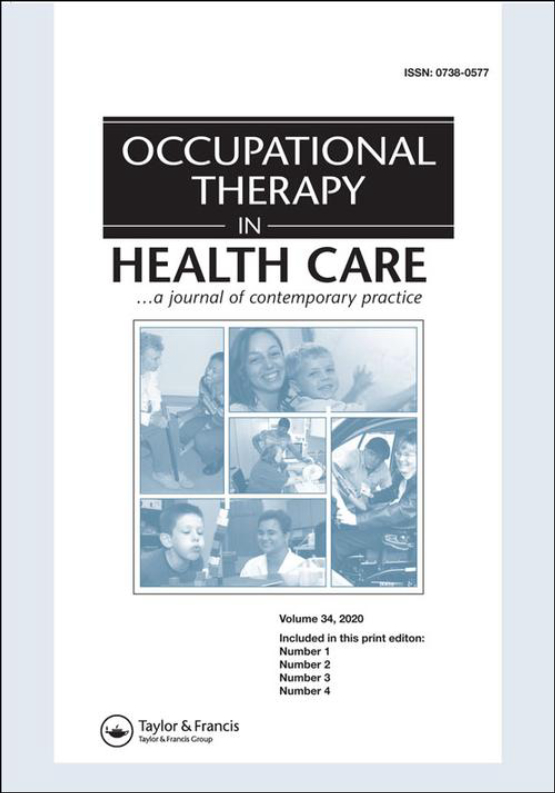 Cover image - Occupational Therapy In Health Care