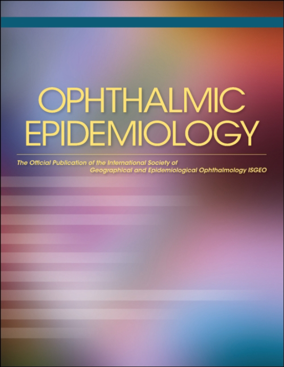 Cover image - Ophthalmic Epidemiology