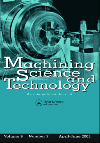 Machining Science and Technology