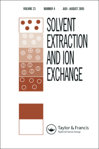 Solvent Extraction and Ion Exchange