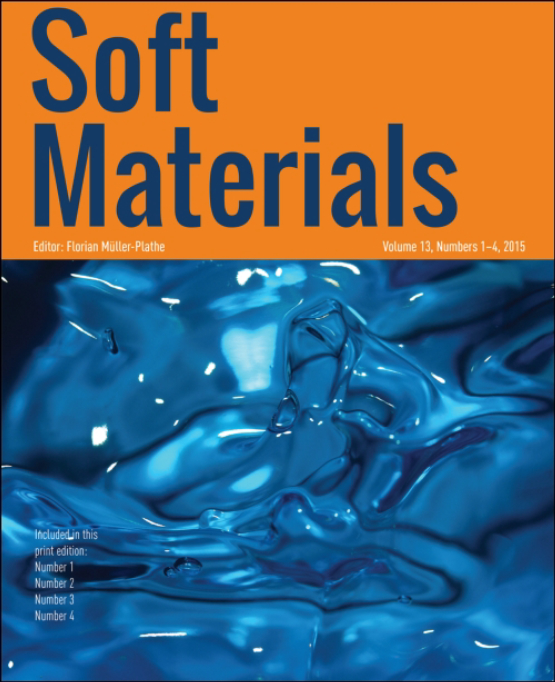 Cover image - Soft Materials