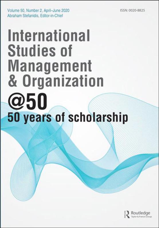Cover image - International Studies of Management & Organization