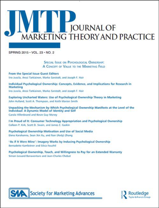 Cover image - Journal of Marketing Theory and Practice
