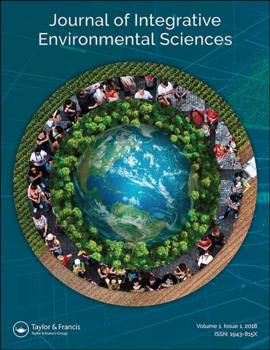 Cover image - Journal of Integrative Environmental Sciences