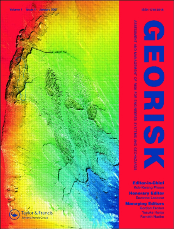 Cover image - Georisk: Assessment and Management of Risk for Engineered Systems and Geohazards